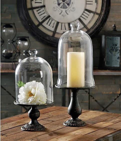 Decorando y renovando decorando con campanas de cristal - Campana de cristal ikea ...