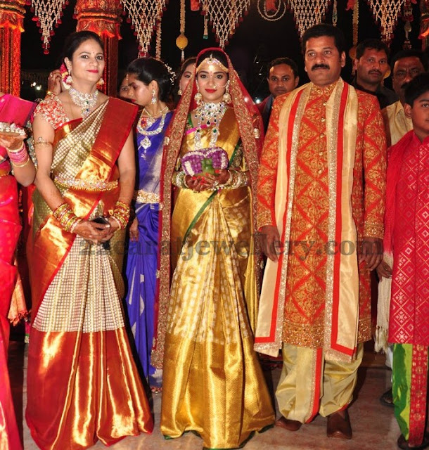 Revanth Reddy Daughter Marriage