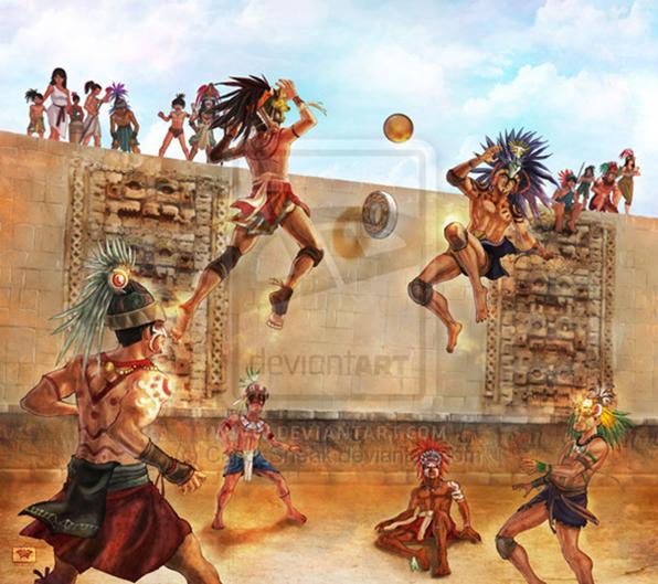 Mayans Blog History: Mayans Games