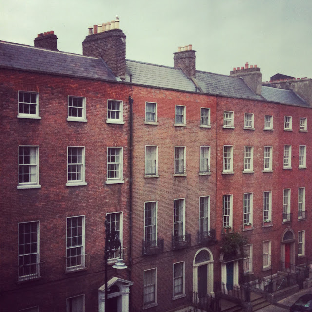 Brown Stone Houses in Dublin