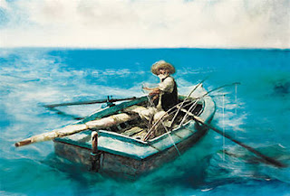 """the character of santiago as a hero in hemingways novel the old man and the sea This novel tells the story of santiago, an old cuban  """"the old man and the sea  this type of character became known as the """"hemingway hero"""" santiago fits."""