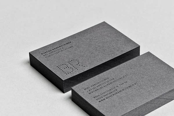 50 Elegant Embossed Business Cards - Jayce-o-Yesta