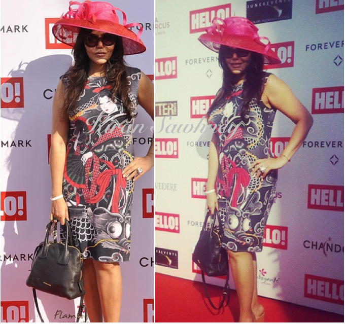 Nisha Jamval at Hello races in Desigual