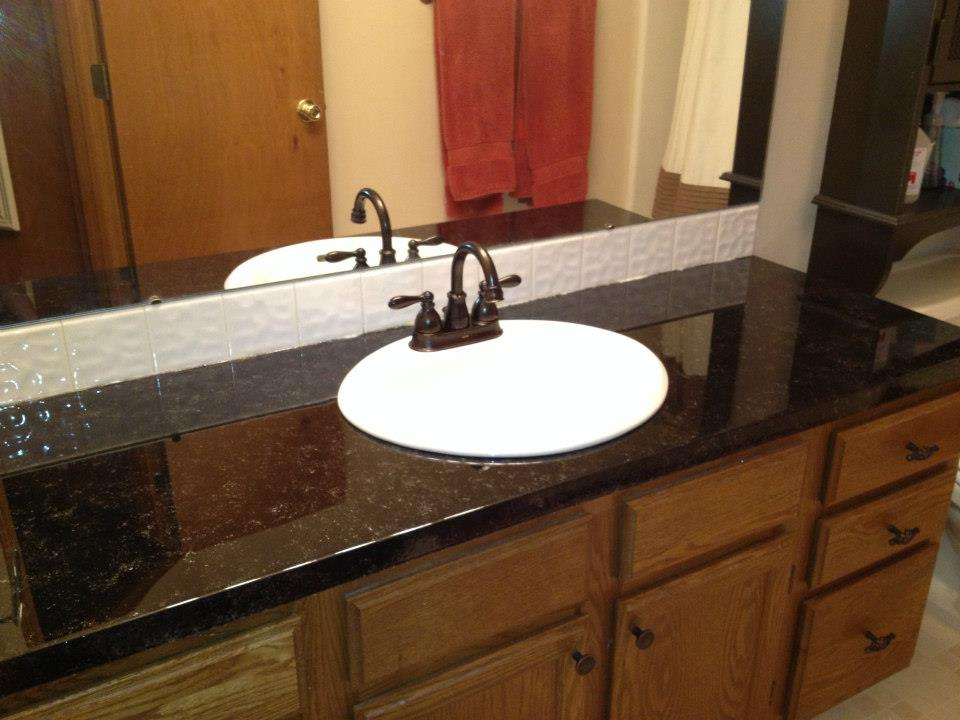 Painted Envirotex Lite Countertop