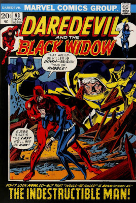 Daredevil and the Black Widow 93, The Indestructible Man