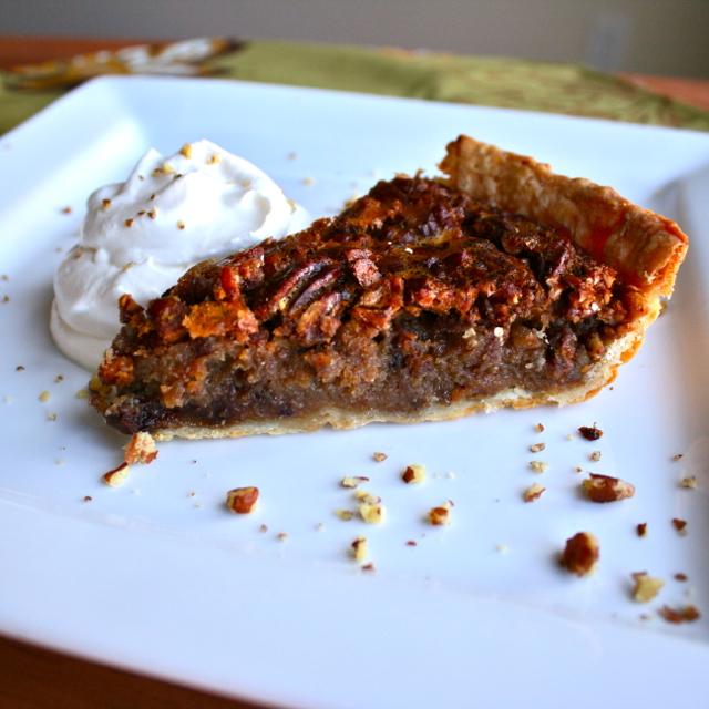 See Brooke Cook: Chocolate Pecan Bourbon Pie