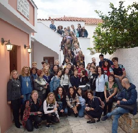 Μαθητές από πέντε ευρωπαϊκές χώρες επισκέφθηκαν το Μουσείο Παιχνιδιών Ερμιόνης! ...