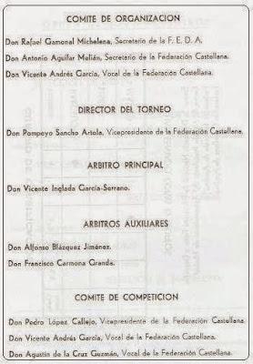 Comités de organización del Torneo de Ajedrez Internacional Interciudades Barcelona-Lisboa-Madrid 1971