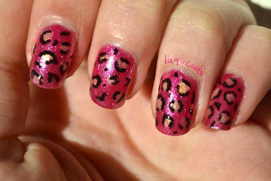Nail Art - Animal print