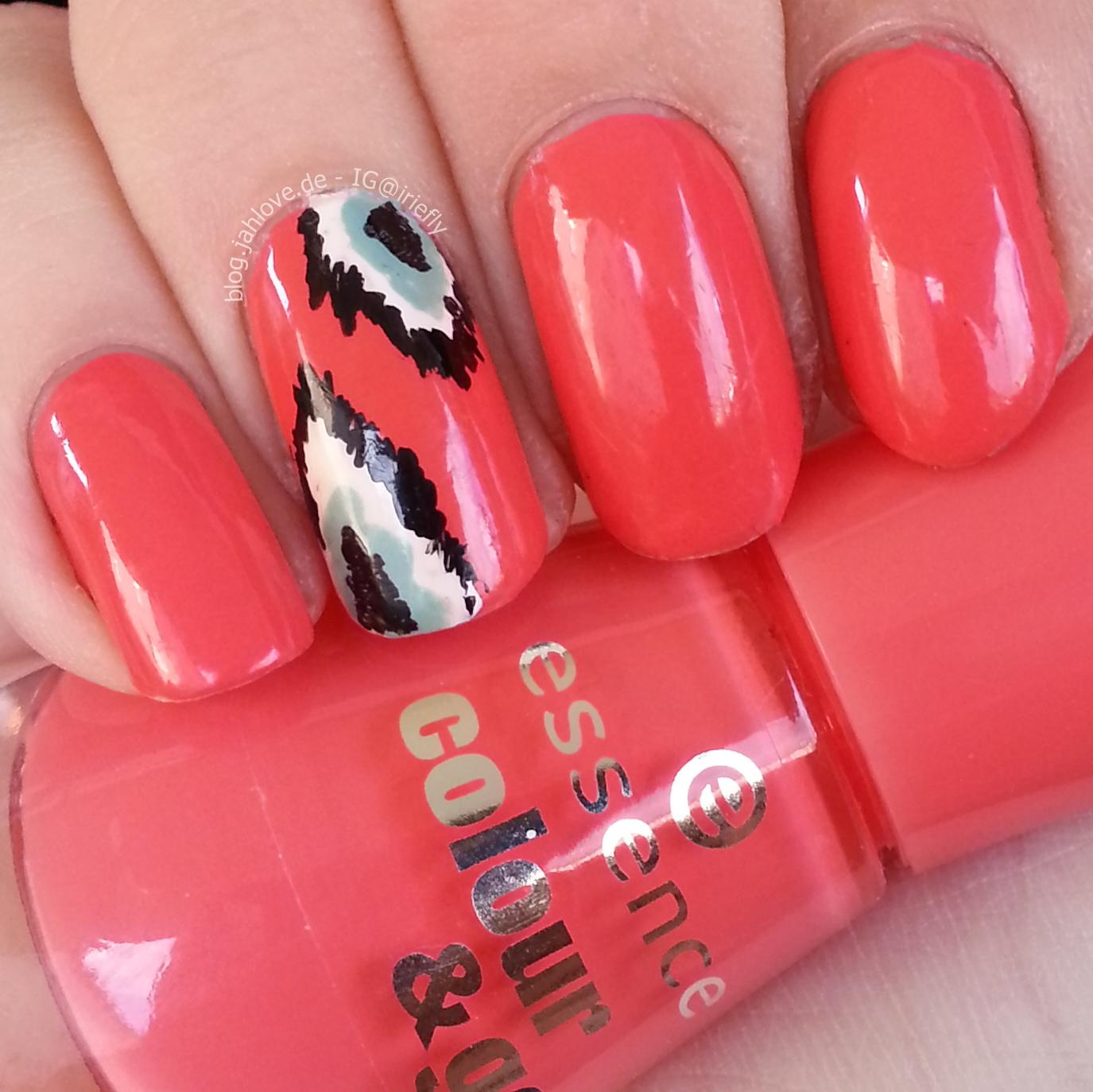 blog.jahlove.de ::.: [Nails] Ikat-Nägel mit Essence \