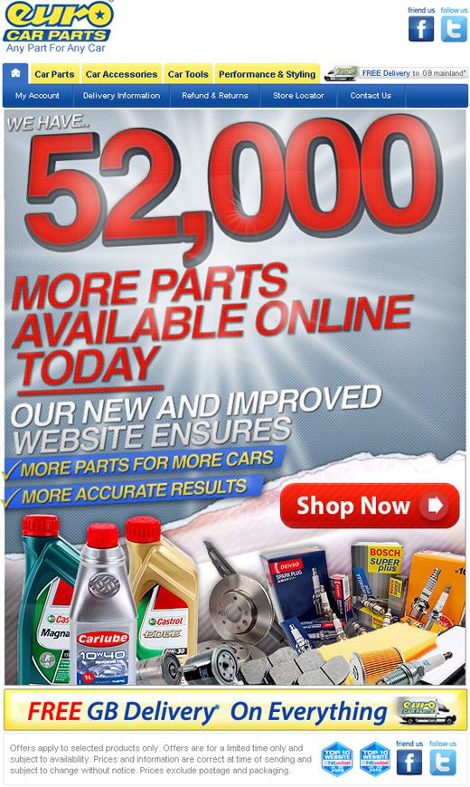 Euro Car Parts Offers | Discounts | Winter Car