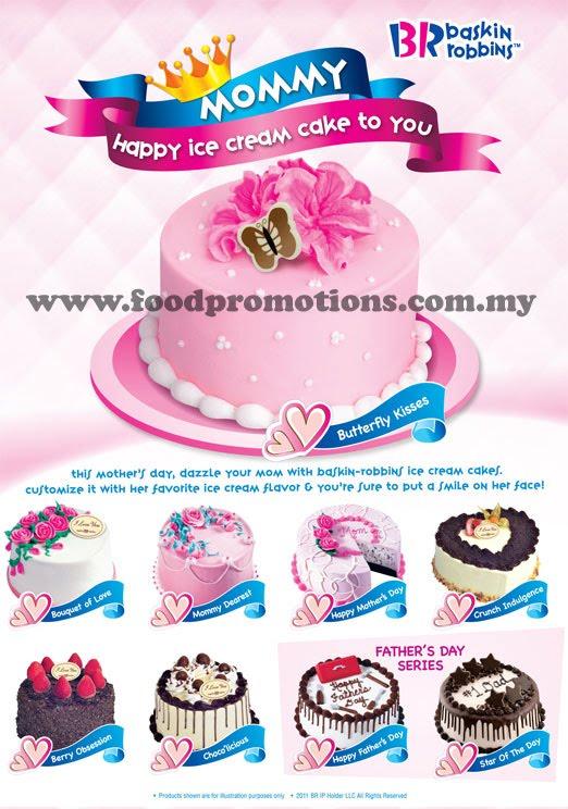 Robbins Cakes Price List