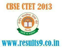 CTET 2013 Results