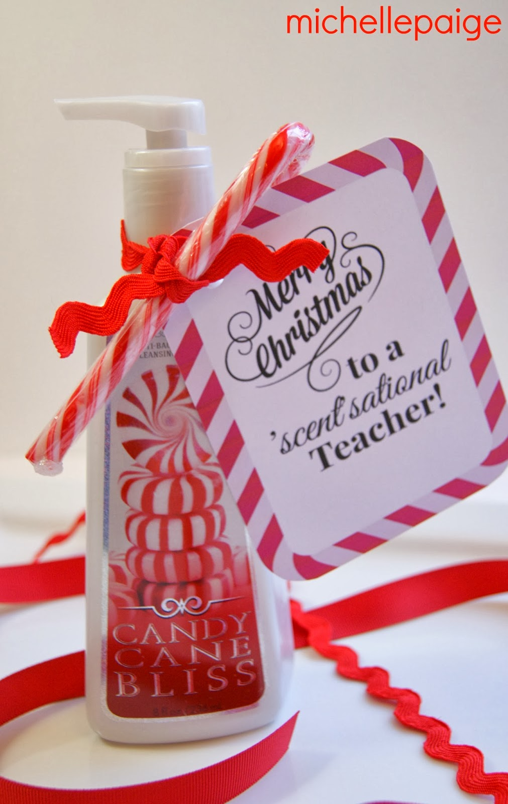 Classroom Gift Ideas For Christmas ~ Michelle paige s quick teacher soap gift for christmas