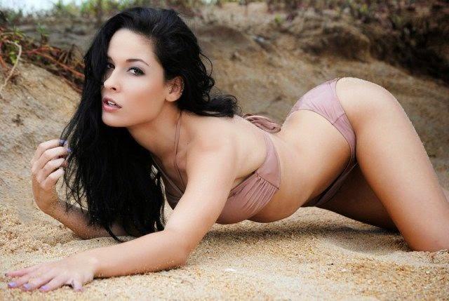 Emily Weiss naked in bikini