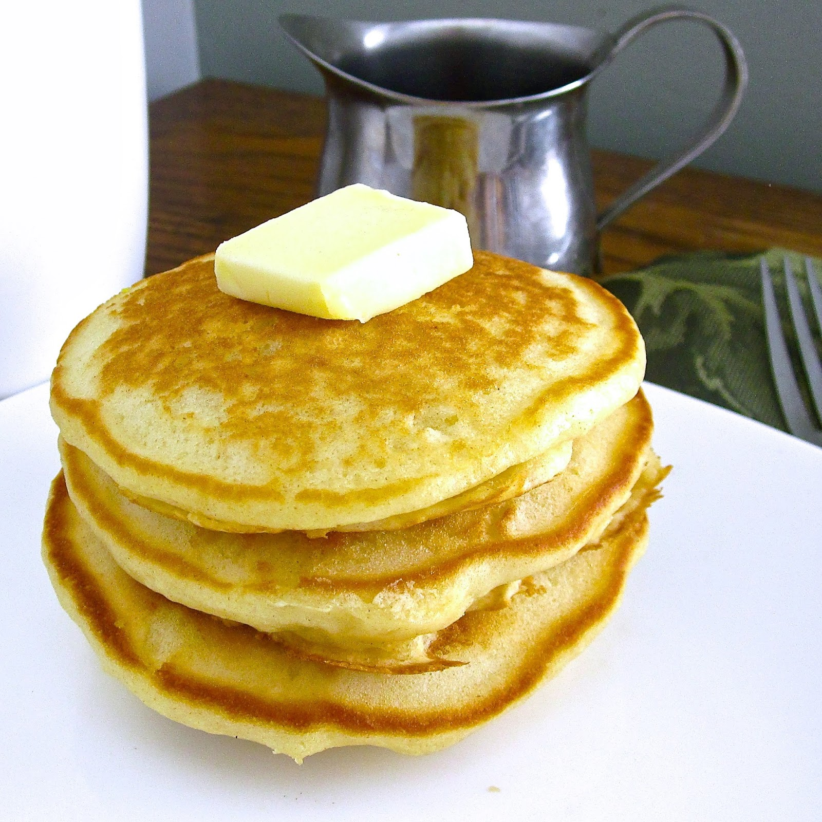 how to make thick pancakes without eggs