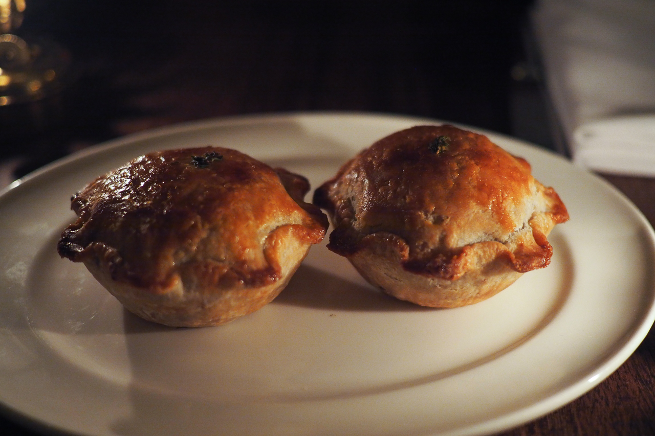Beef and Stilton Pie - a true English classic - $10 each