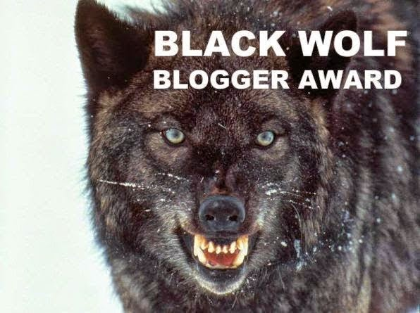 Premio Black Wolf Blogger Awards