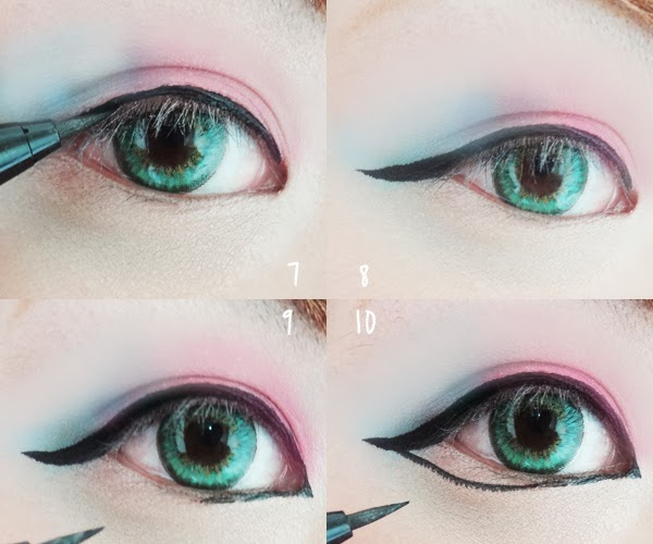 What if withered eyeliner-pen?