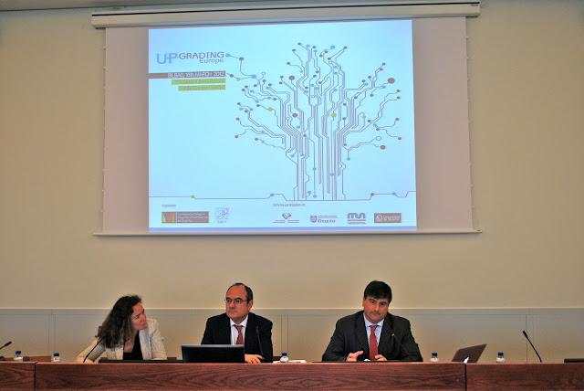 Susana del Río, Jaume Duch y Gian Luca Giovannucci © EUCA