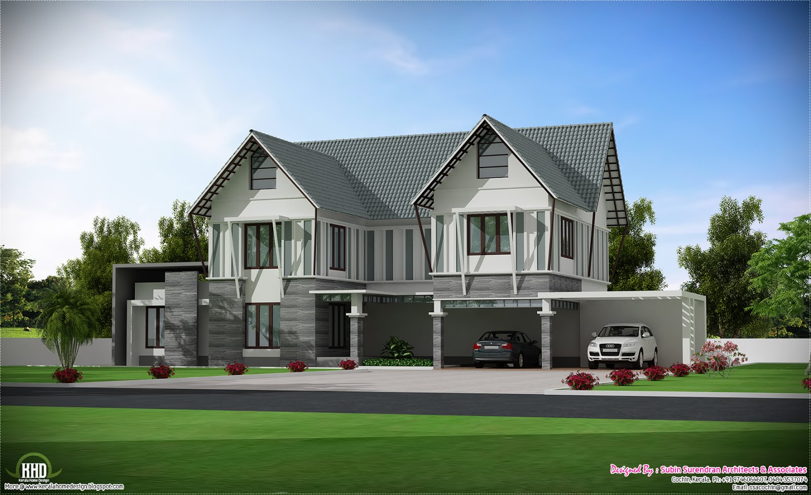 Wonderful Kerala Modern House Design 1600 x 977 · 246 kB · jpeg
