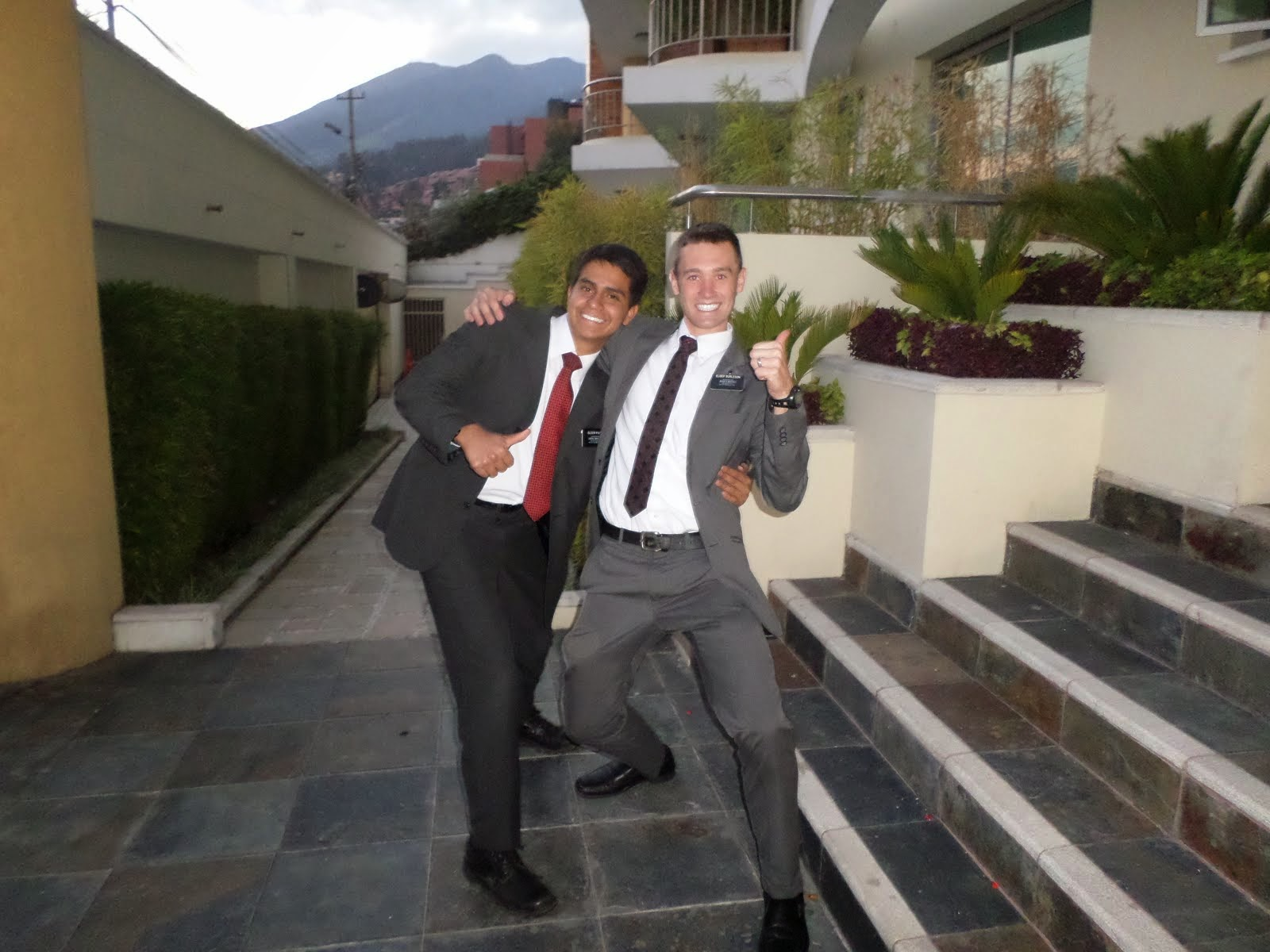 Elder Pinta and I!