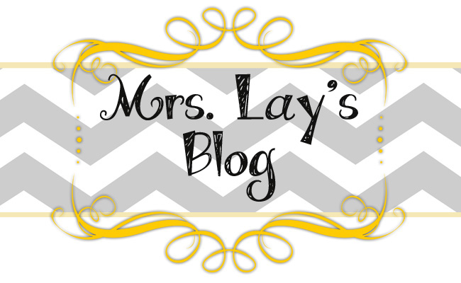 Mrs. Lay's Blog