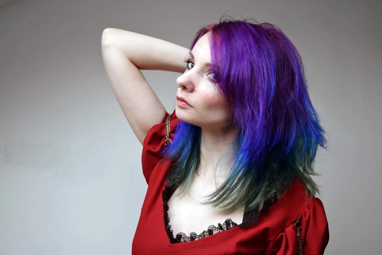 Cheveux avec 2 couleur