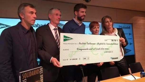 """Piqué: """"Creo que Messi podrá jugar ante el Celta"""""""
