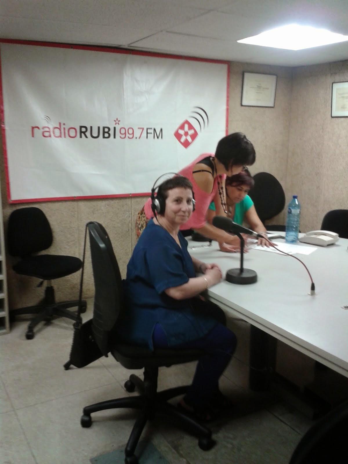 """PROGRAMA DE RADIO RUBÍ """"RUBÍ AL DÍA"""""""