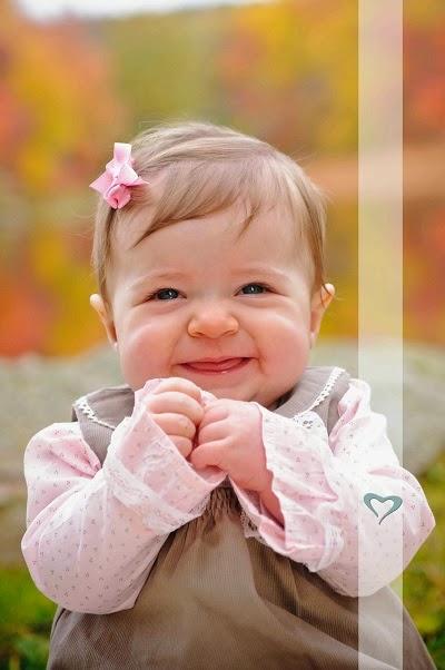 Bébé adorable en image