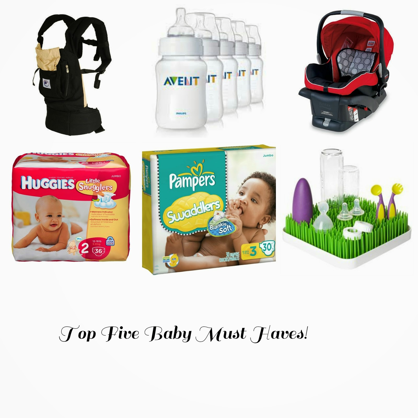 top five baby must haves!