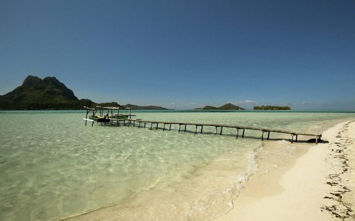 Amazing Island Widescreen HD Wallpaper