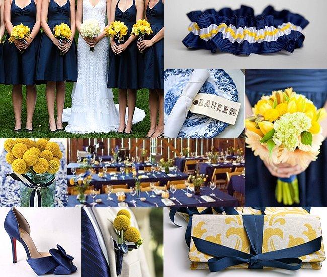 decoracao azul marinho e amarelo casamento:amarelo é uma cor que lembra a alegria, a vitalidade e o calor. E o