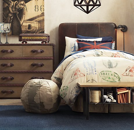 Mad for mid century september 2011 for World themed bedding