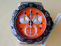 TAG HEUER FORMULA1 CHRONOGRAPH ORANGE DIAL