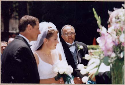 Mel and Dorothy wedding photo