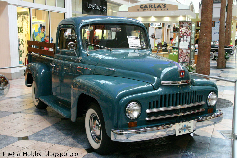 Spotted International Harvester L 110 Pickup Truck The