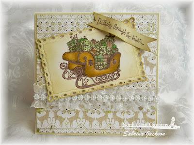 Stamps - North Coast Creations Santa's Sleigh