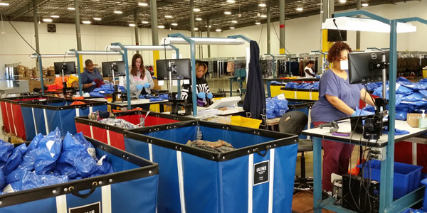 Logistics cho ngành công nghiệp thời trang