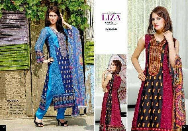 Rashid Liza Krinkle Summer Dresses