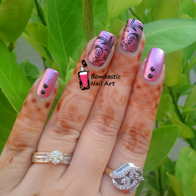 Nail Polish Colors Metallic Pink 2 Water Slide Decal Black Full D336 3 Flat Back Pearls Mm Size 4 A Bowl Of