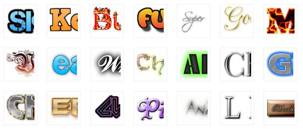 Membuat logo di COOLTEXT