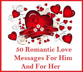 sample messages and wishes 50 romantic messages