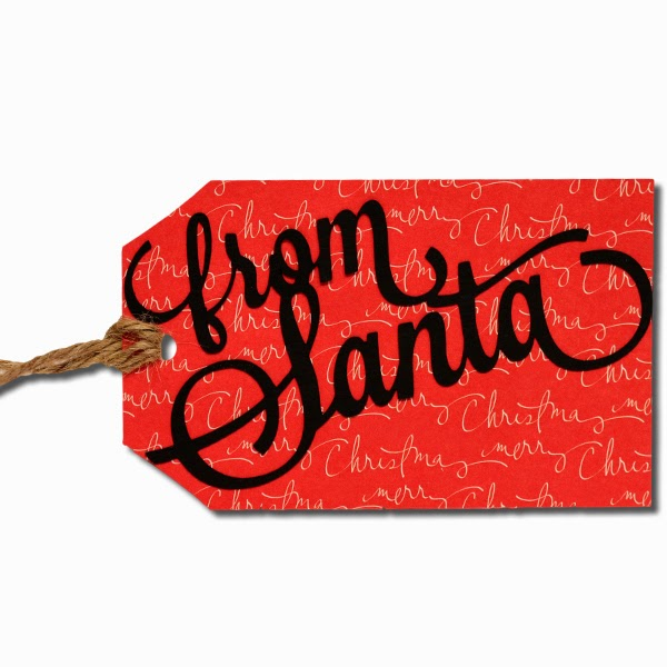 From Santa Gift Tags | New Calendar Template Site