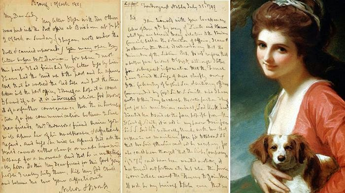 Surat Cinta Lord Nelson kepada Selingkuhannya Emma Hamilton Seharga Rp 360 Juta