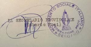 1958 - MOVIMENTO SOCIALE ITALIANO