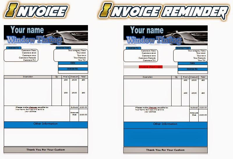 Jetpressure Washing Leafletsflyerbusiness Cards Business Start Up - Windows invoice template