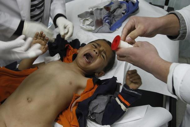 Imagens fortes-atenção- crimes de Israel - foto 1