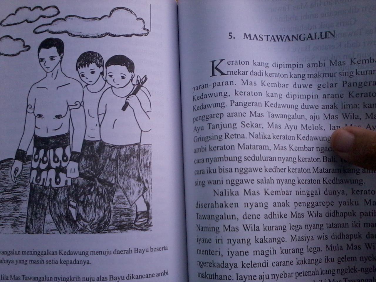 Buku ini juga dilengkapi denganilustrasi-ilustrasi yang menarik.